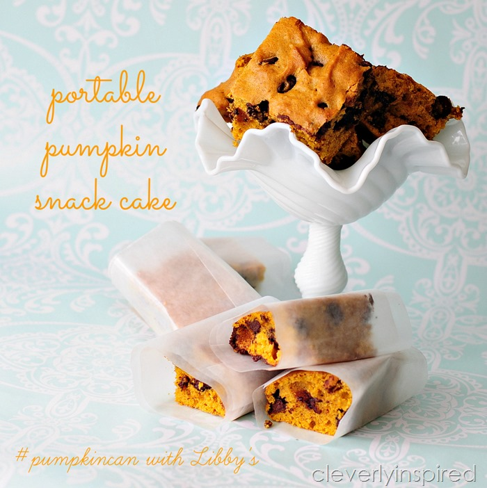 pumpkin snack cake recipe (kid friendly snack) @cleverlyinspired (10)