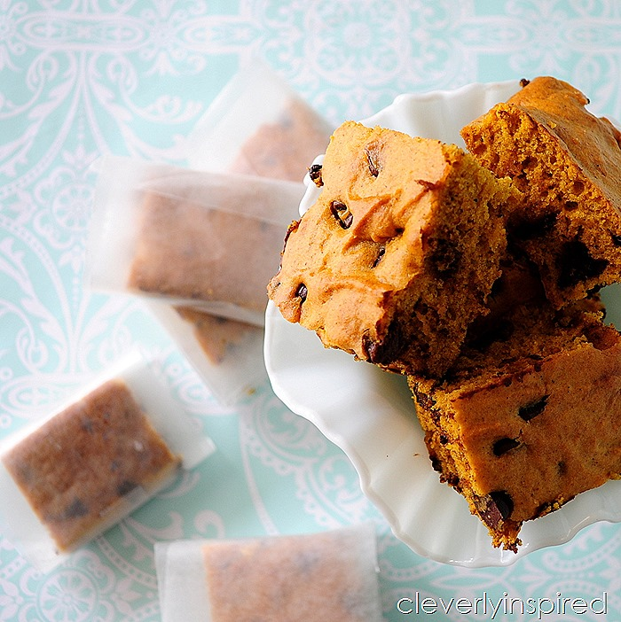 pumpkin snack cake recipe (kid friendly snack) @cleverlyinspired (2)