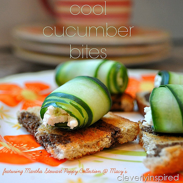 cool cucumber bite appetizer @cleverlyinspired (2)