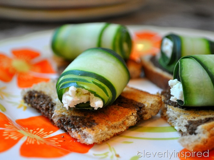 cool cucumber bite appetizer @cleverlyinspired (3)