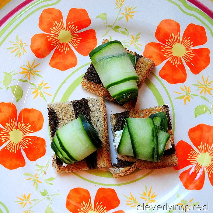 cool cucumber bite appetizer @cleverlyinspired (5)