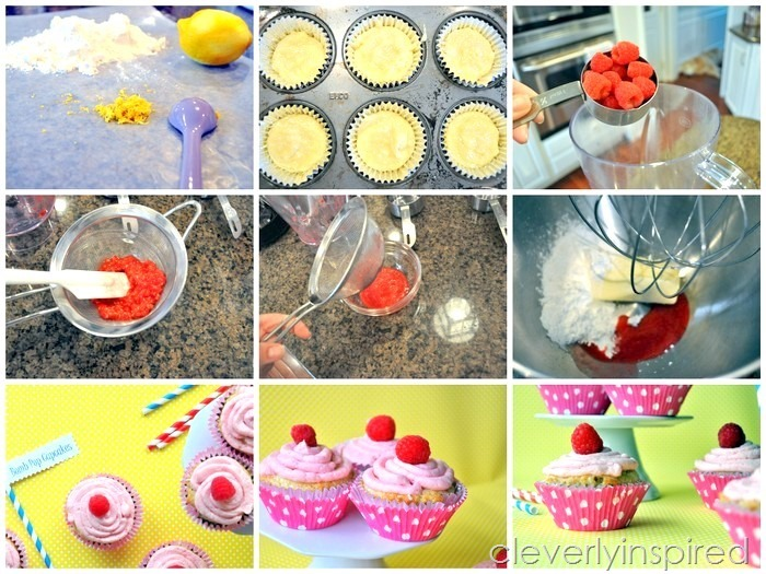 homemade bomb pop cupcake recipe @cleverlyinspired (2)