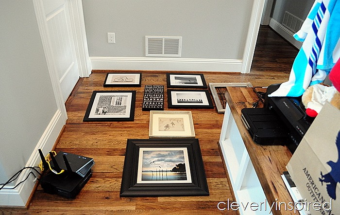 3 minute gallery wall @cleverlyinspired (1)