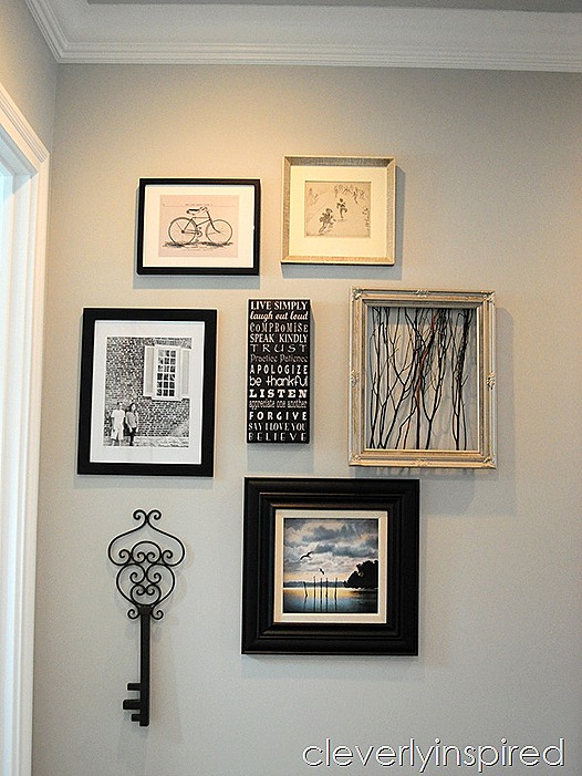 3 minute gallery wall @cleverlyinspired (3)