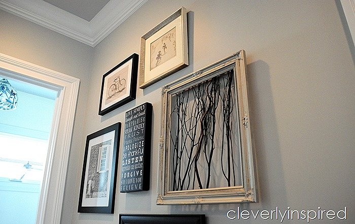 3 minute gallery wall @cleverlyinspired (4)