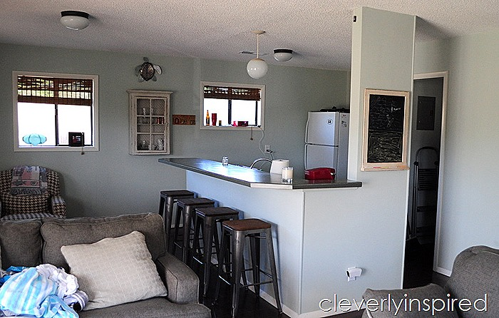 Beach kitchen update on a budget @cleverlyinspired (2)