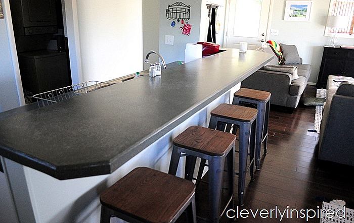 Beach kitchen update on a budget @cleverlyinspired (6)