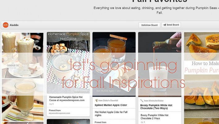 Fall Entertaining Inspiration: Let's go pinning…