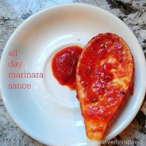 All Day Marinara Sauce