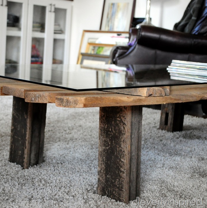 barn door coffee table @cleverlyinspired (3)
