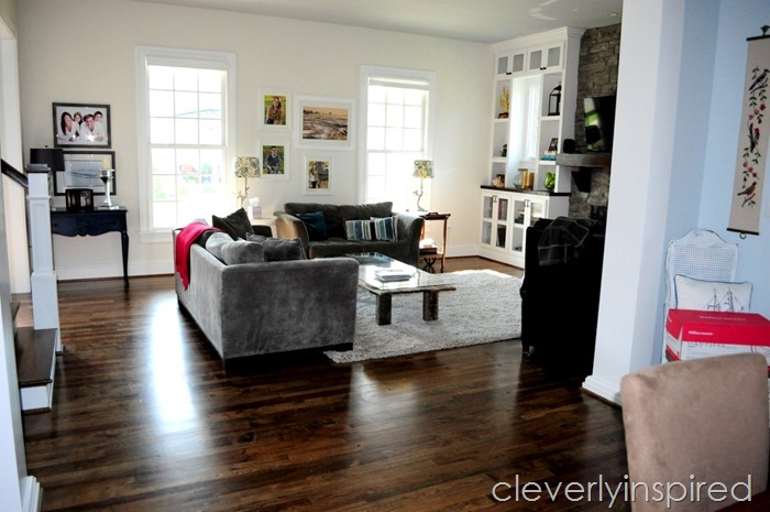 barn door coffee table @cleverlyinspired (5)