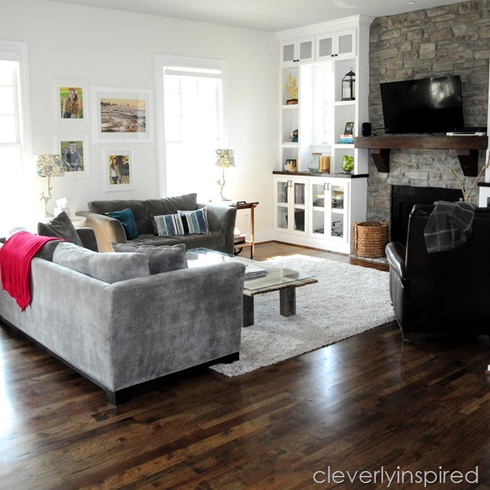 barn door coffee table @cleverlyinspired (6)