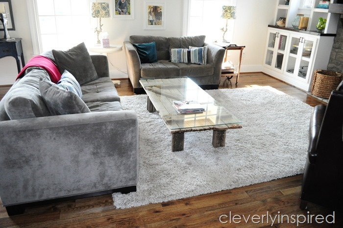barn door coffee table @cleverlyinspired (8)