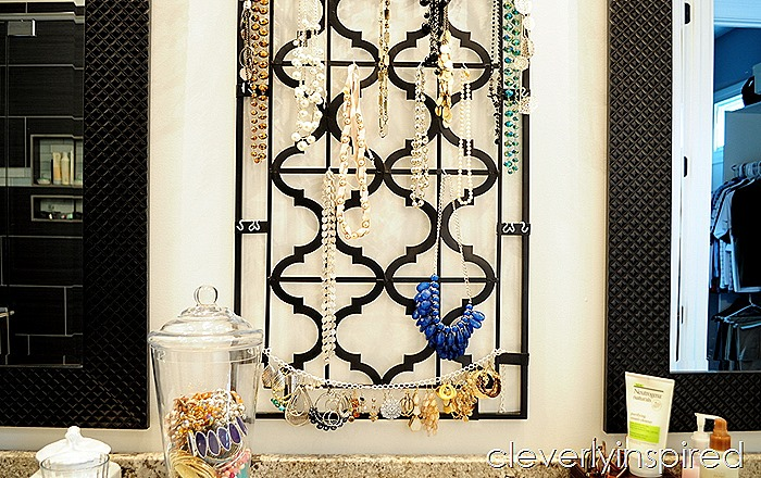 DIY necklace holder @cleverlyinspired (4)
