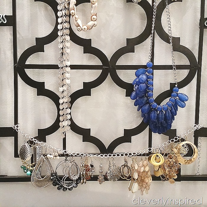 diy necklace holder cleverly inspired