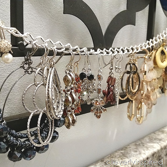 DIY necklace holder@cleverlyinspired (2)
