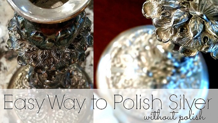 Easy way to polish silver