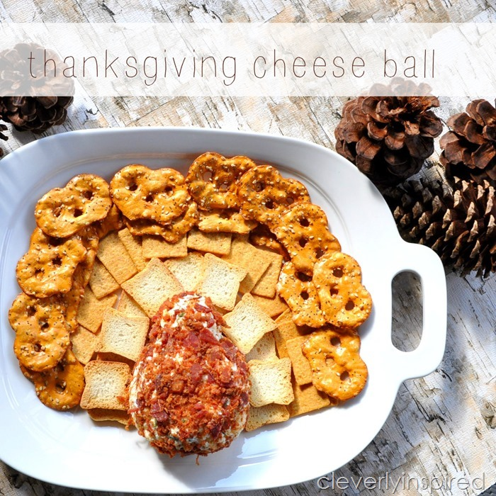 Thanksgiving cheese ball @cleverlyinspired (2)