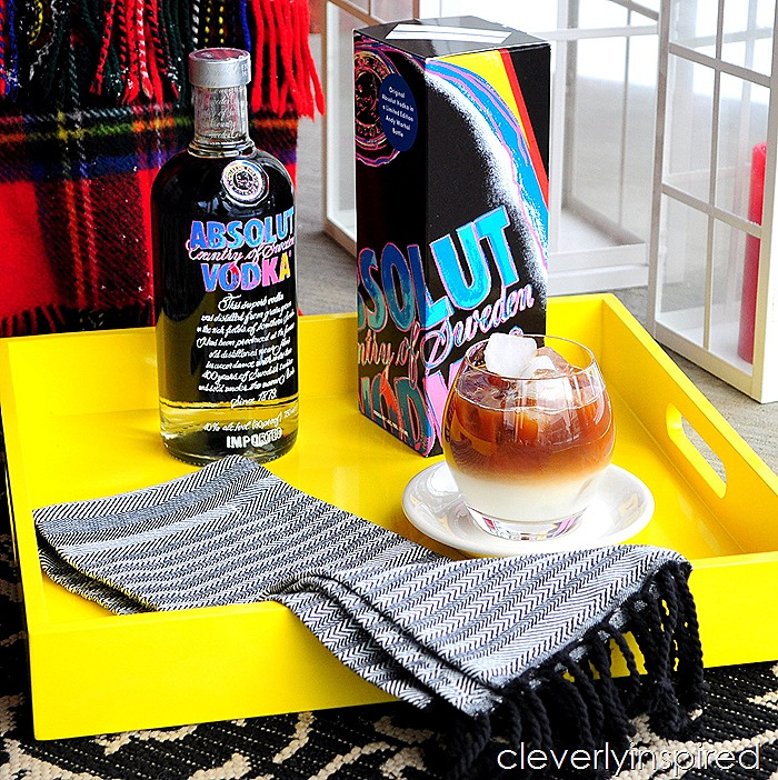 grown up iced coffee #absolutWarhol @cleverlyinspired (1)