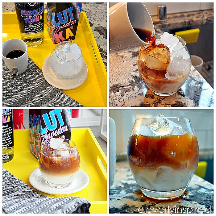 grown up iced coffee #absolutWarhol @cleverlyinspired (7)