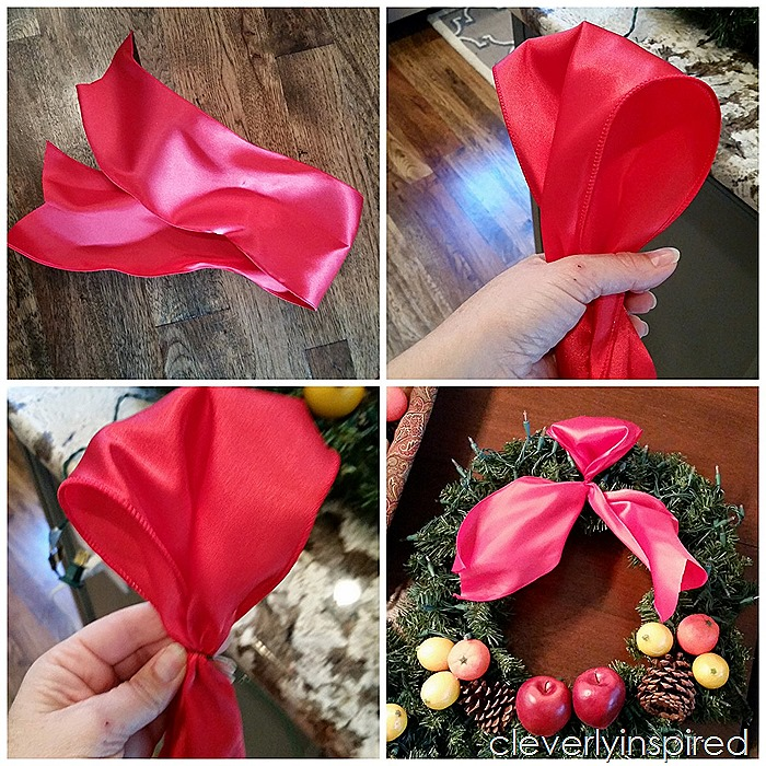 outdoor bow @cleverlyinspired