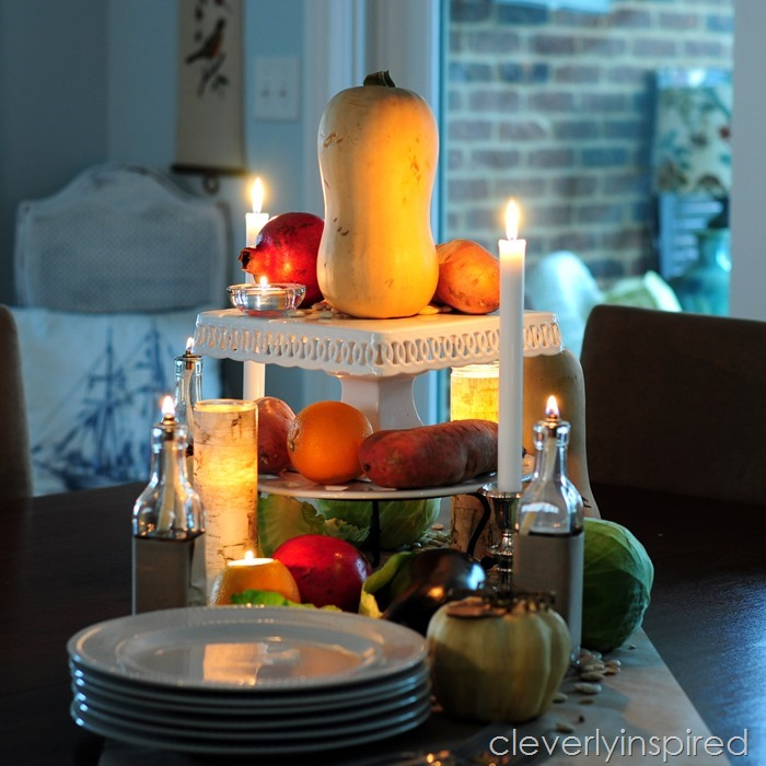 rustic thanksgiving tablescape @cleverlyinspired (11)