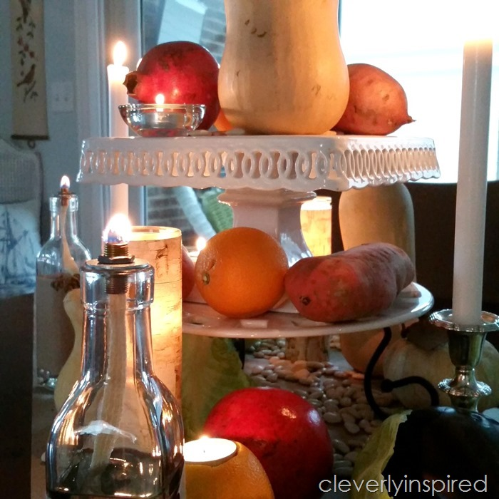 rustic thanksgiving tablescape @cleverlyinspired (12)