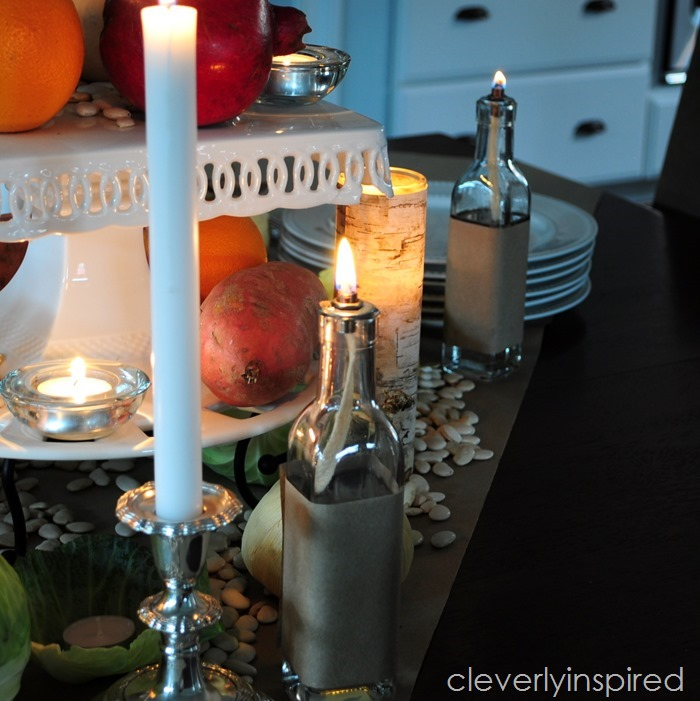 rustic thanksgiving tablescape @cleverlyinspired (1)