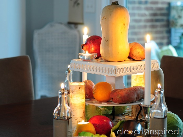 rustic thanksgiving tablescape @cleverlyinspired (4)