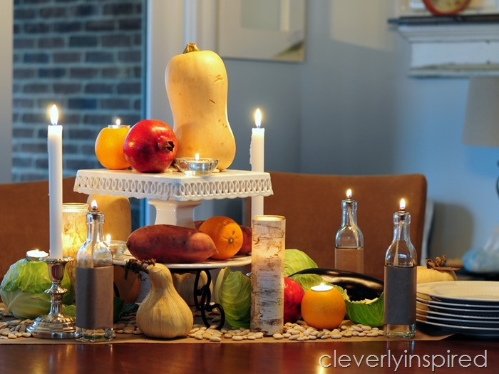 rustic thanksgiving tablescape @cleverlyinspired (7)
