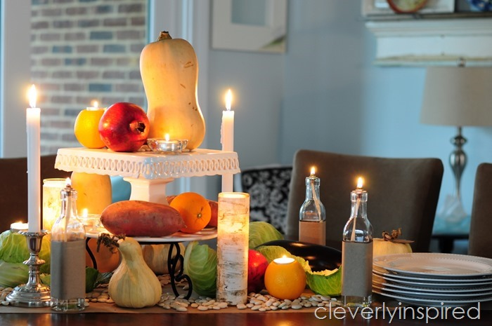 rustic thanksgiving tablescape @cleverlyinspired (9)