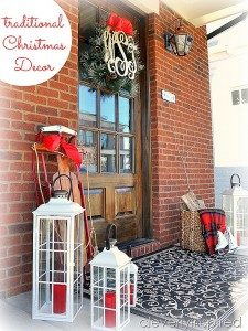 Traditional Outdoor Christmas Decorations