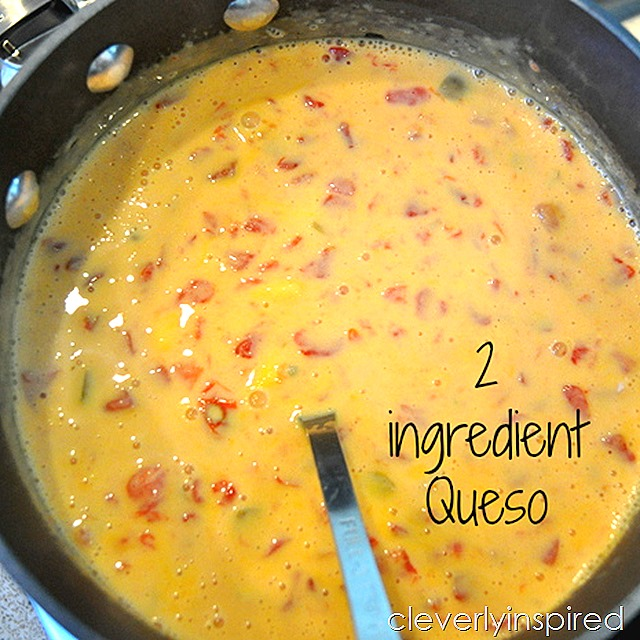 2 ingredient queso @cleverlyinspired (3)