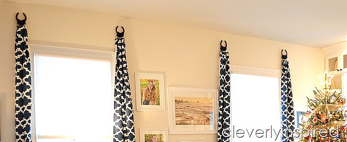 horseshoe curtain holders @cleverlyinspired (10)