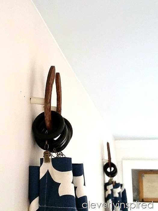 horseshoe curtain holders @cleverlyinspired (2)