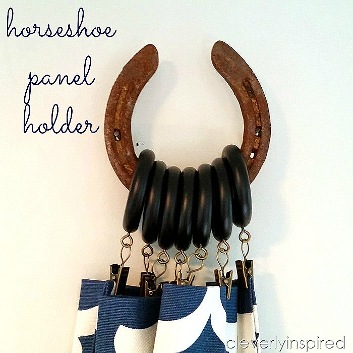 horseshoe curtain holders @cleverlyinspired (4)