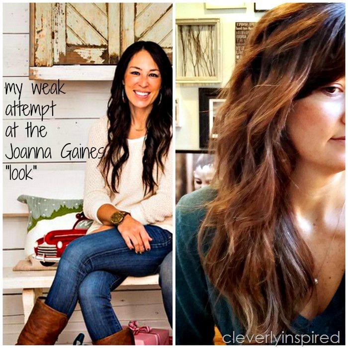 Joanna Gaines S Hair My Weak Attempt At A Hair Tutorial