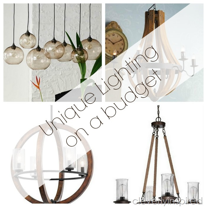 unique lighting on a budget @cleverlyinspired (1)