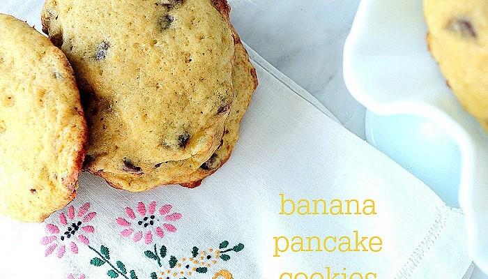 Banana Pancake Cookies