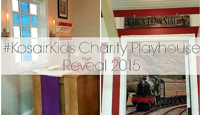 Charity Playhouse Reveal (#KosairKids)