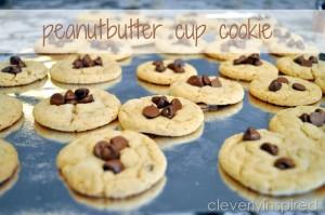 Peanut butter Cup Cookie Recipe