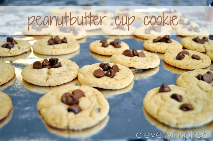 peanut butter cup cookie @cleverlyinspired (3)