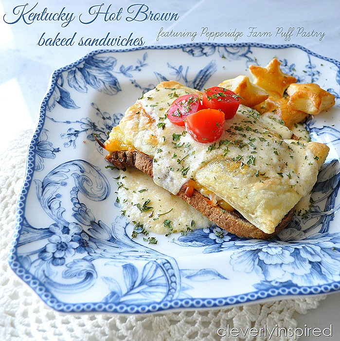 Kentucky Hot Brown Baked Sandwiches Derby Party Food Cleverly