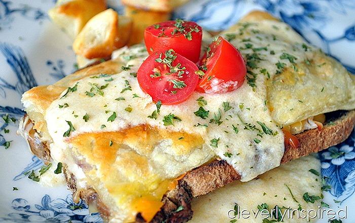 Kentucky Hot Brown Baked Sandwich @cleverlyinspired (6)