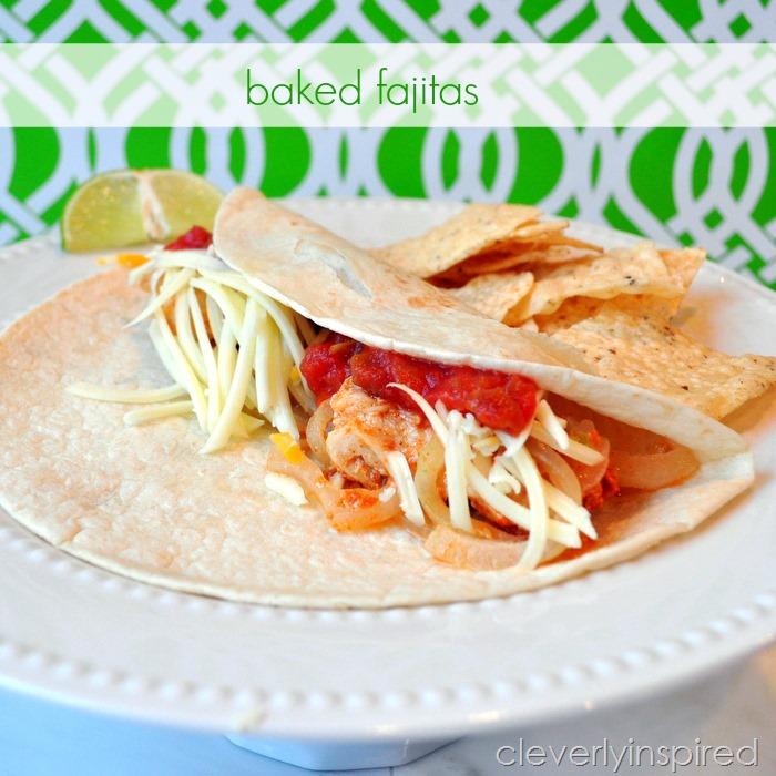 baked fajita recipe @cleverlyinspired (3)