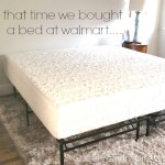 12 inch memory foam bed from Wal-Mart: One Unbiased Review