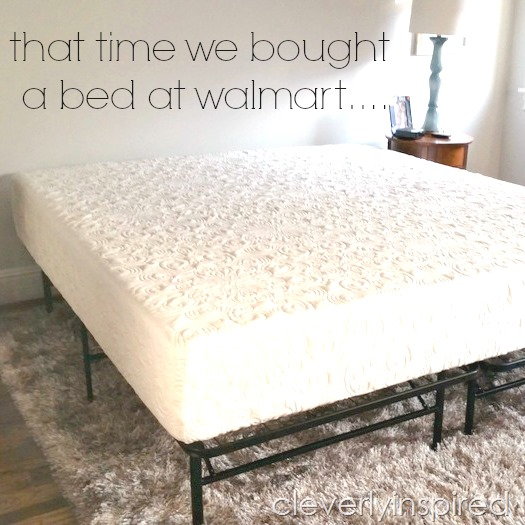 walmart 12 inch memory foam bed @cleverlyinspired (4)cv