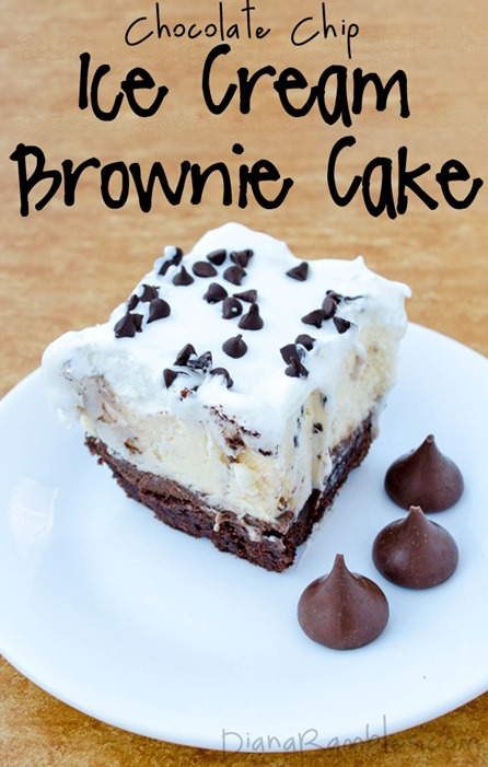 chocolate-chip-ice-cream-brownie-cake