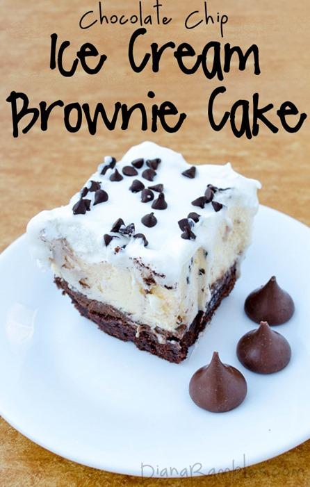chocolate-chip-ice-cream-brownie-cake