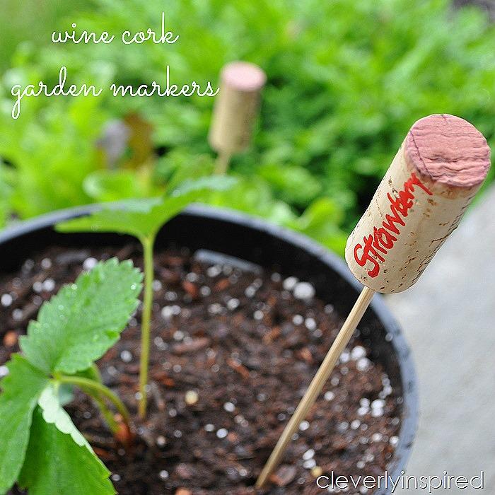 wine cork garden markers @cleverlyinspired (4)